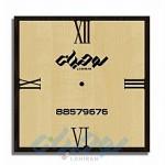 ساعت های دیواری تبلیغاتی چوبی C115