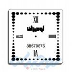 ساعت های دیواری تبلیغاتی پلکسی گلاس C128