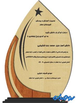 تندیس چوبی مدل W13